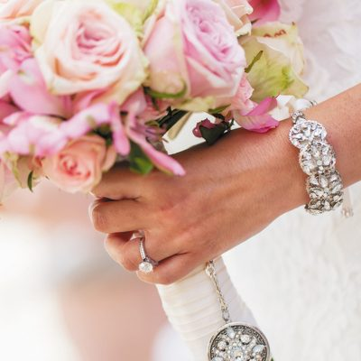 Add a Little Bling to A Bouquet